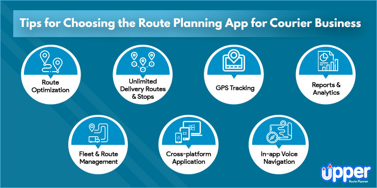 Tips for Choosing the Route Planning App for Courier Business