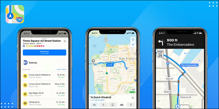 Apple Maps - iPhone users