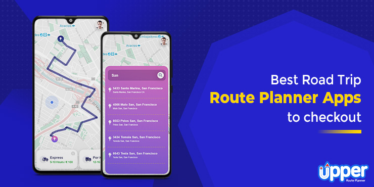 Best Road Trip Route Planner Apps for your Next Road Trip