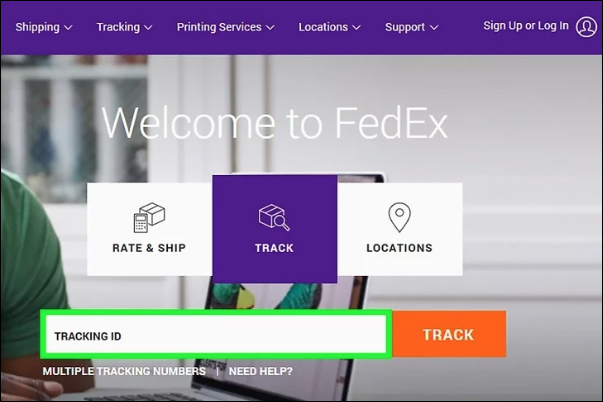 FedEx Courier Tracking