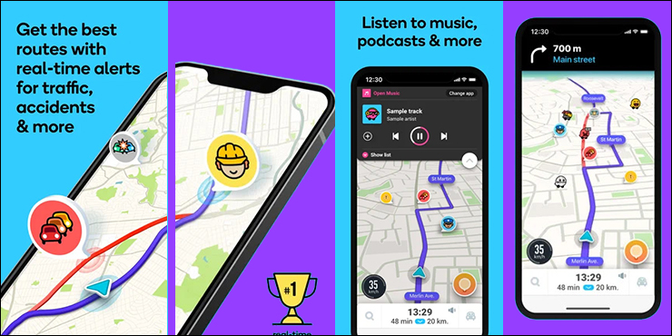Waze Multi Purpose Route Planner App