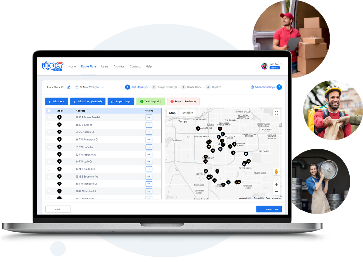 Route Planning and Delivery Management System