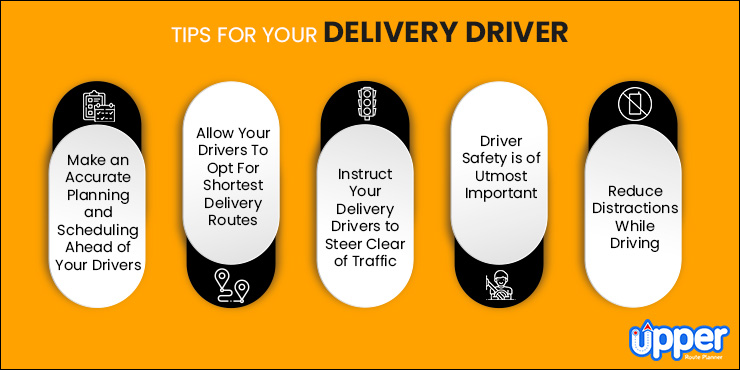 Best Tips For Your Delivery Driver