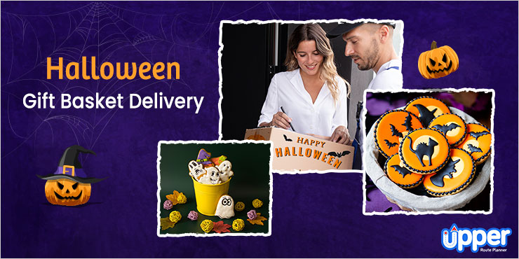 Halloween Gift Delivery With Route Planner Software
